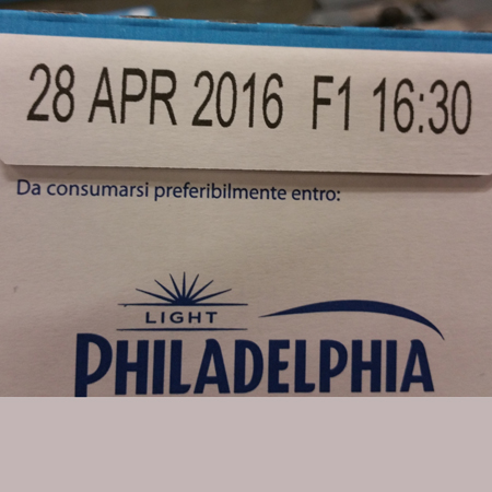 date time printing on products
