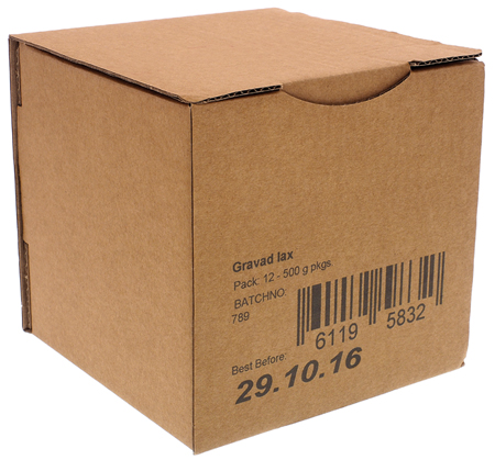 print codes on packages
