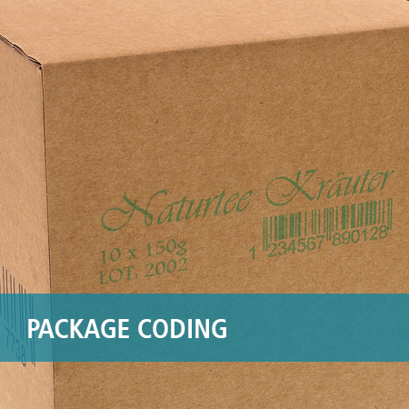 packages coding print