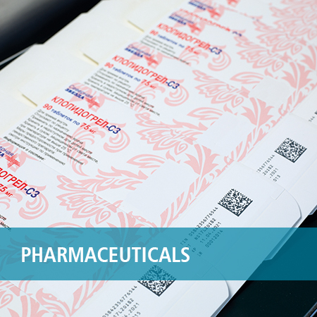 barcode print on pharmaceuticals