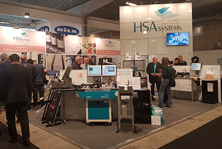 HSA Systems' stand at Hi Expo