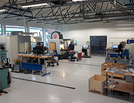 The new production facilities in Odense