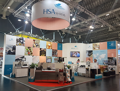 HSA Systems' stand at FachPack